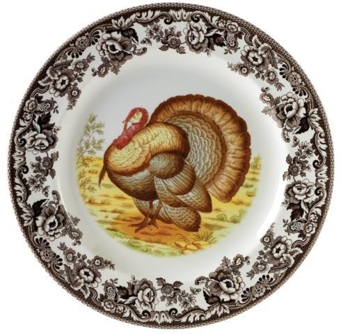 Spode Woodland Turkey Collection Round Platter $66.75